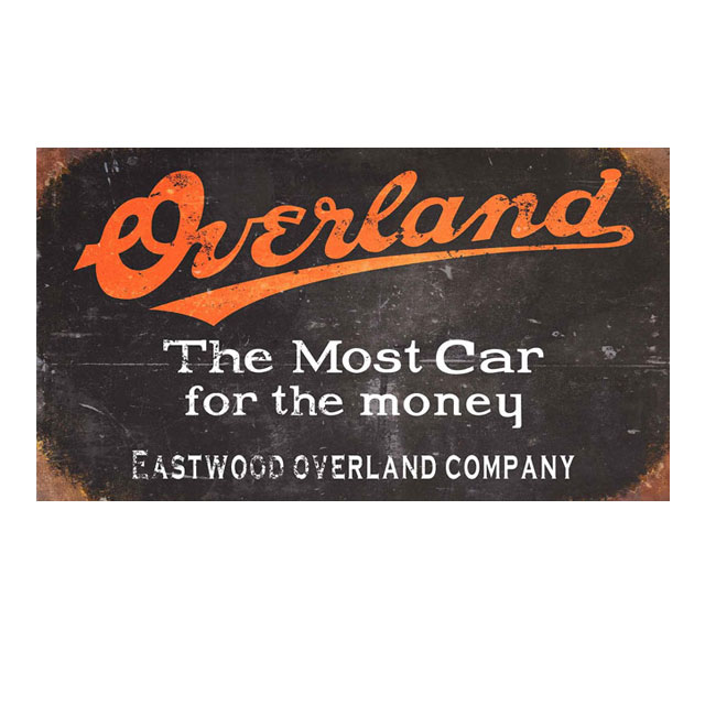 Overland Sign