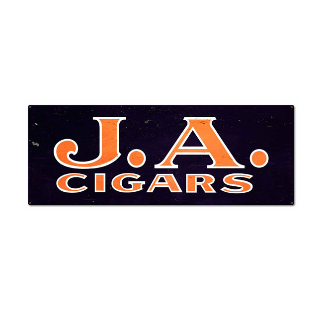 JA Cigars Sign