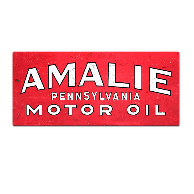 Amalie Oil Sign