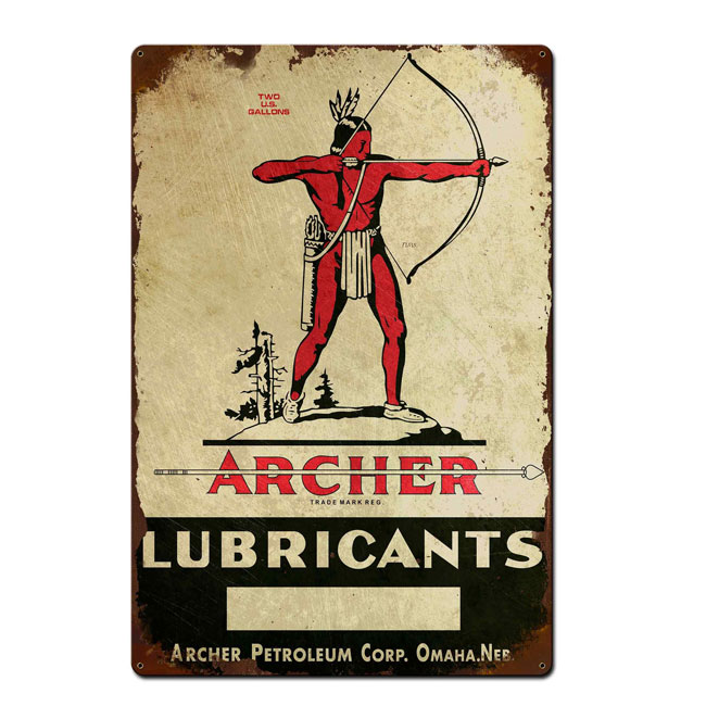 Archer Petroleum Sign