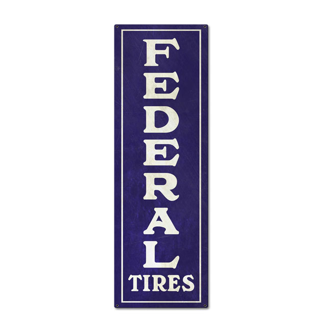 Federal Tire Sign
