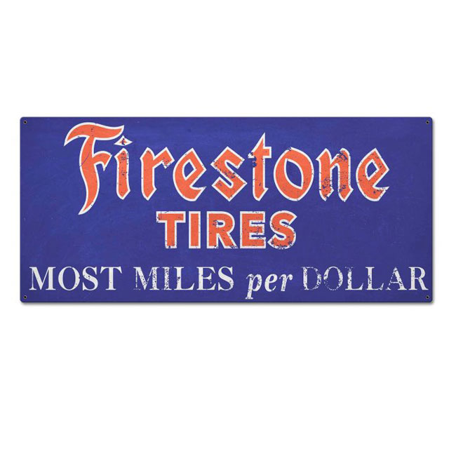 Firestone Tire Sign