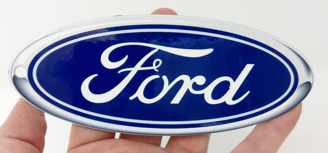 Ford Blue Oval Metal Sign