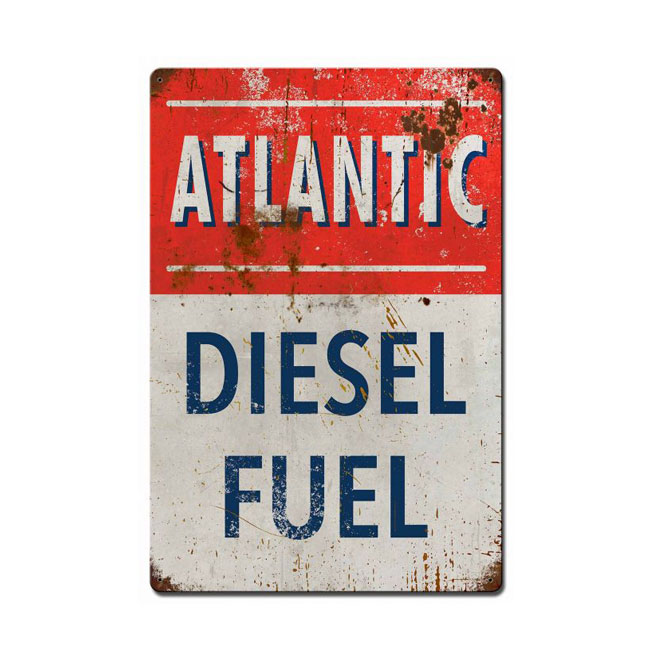 Atlantic Diesel Sign