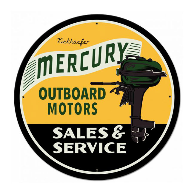 Mercury Outboard Sign