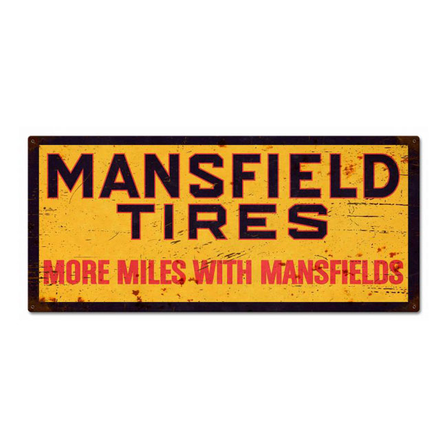 Mansfield Tires Sign
