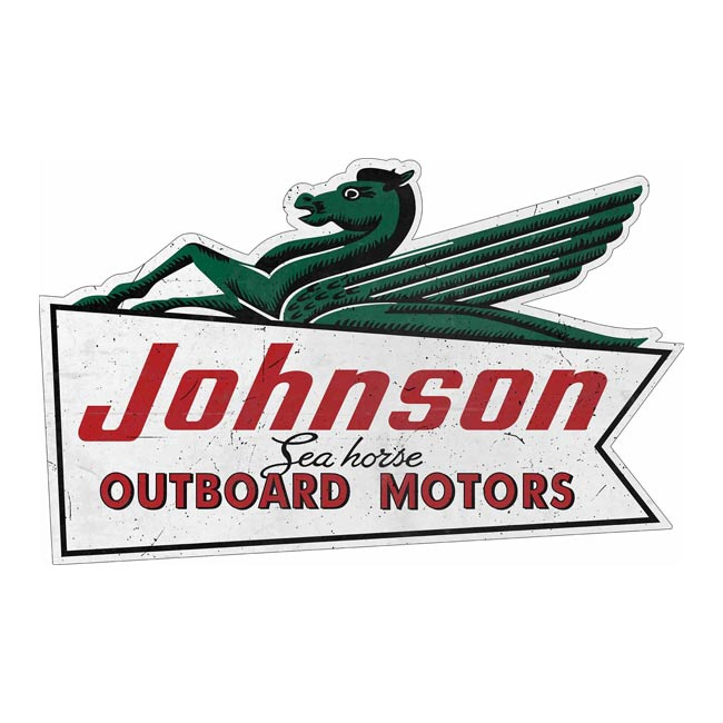 Johnson Seahorse Sign Dealer Sign