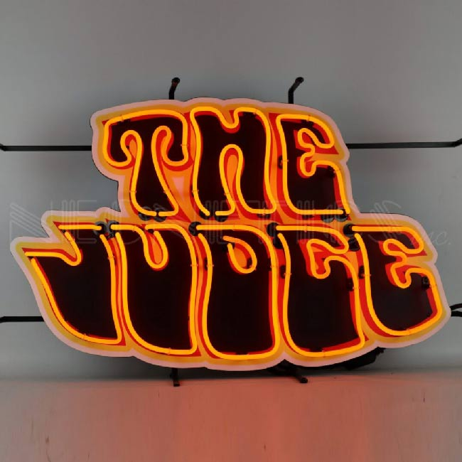 The Judge Neon Sign
