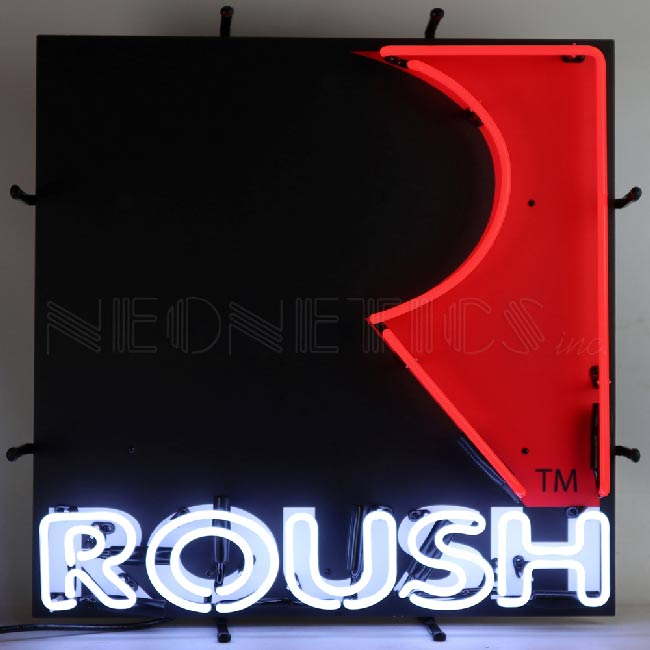 Roush Neon Sign