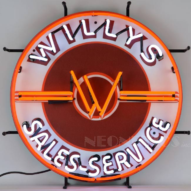 Willys Neon Sign